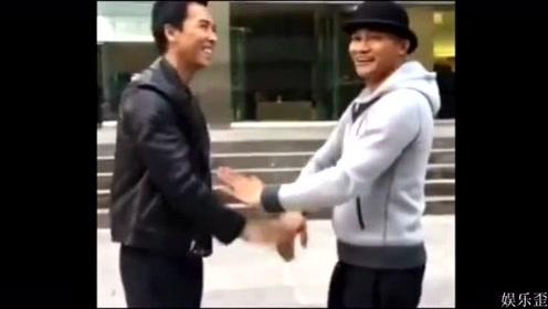 """功夫巨星甄子丹还真的跟泰拳托尼贾""""切磋""""过,看看谁厉害"""