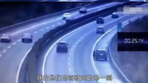 一个30秒事故告诉你:为什么不要在应急车道随便停车!
