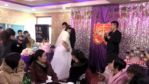 农村一对新人结婚,最完整的结婚仪式,众人都说新娘很美