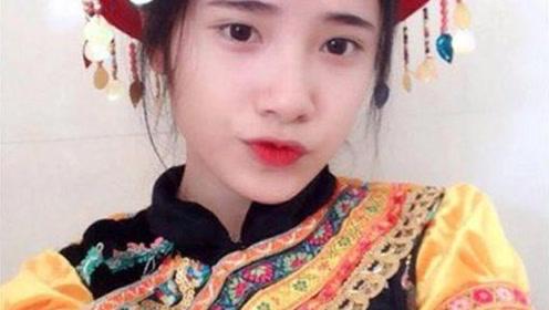 越南高二女生帮妈妈卖豆腐 外表清纯走红网络
