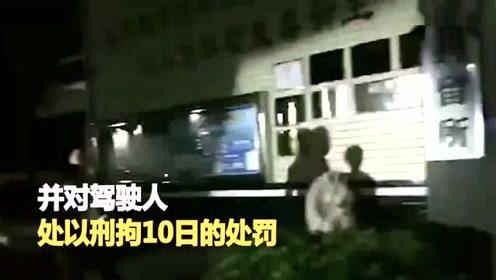 无证摩托挤6人! 车主人行道飙车被捕