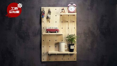 """旧书桌+电锯=3款网红家具,家里瞬间""""变大""""几平米"""