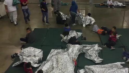 骨肉分离!德克萨斯州边境保卫处孩子哭声不断