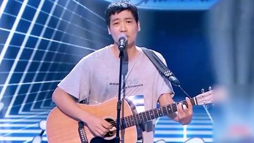 民工自称很多明星唱他的歌,评委一脸质疑,一开嗓韩红要他手机号!