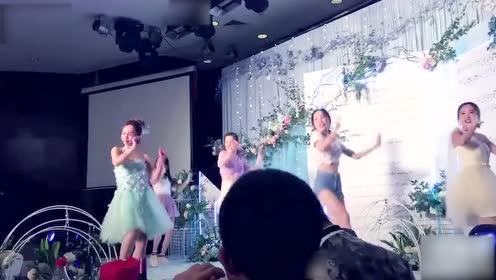 新娘婚礼迷人舞蹈,惊艳全场