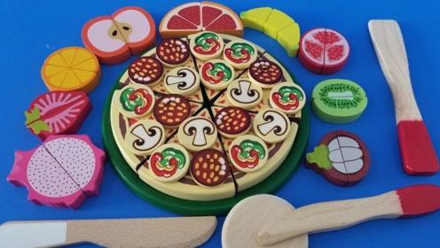 手工制作pizza组图