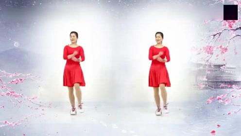 最适合中老年人晚饭后消食减肥健身的一个舞蹈,越活越年轻