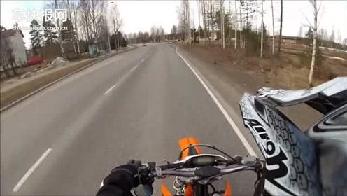 冬天试驾新车KTM 125 exc