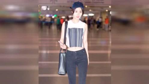 黄晓明前女友李菲儿身材火辣 和杨颖比输在脸上