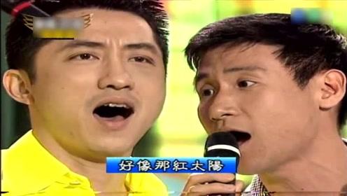 张学友歌剧高音唱中国民歌,被整蛊改歌词,哈林直说好污啊