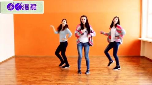 美女姐妹花舞蹈翻跳《Bing Bing》动感十足