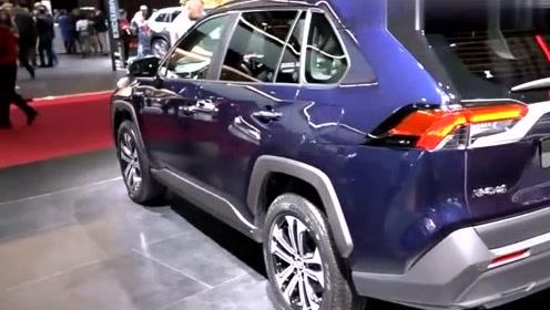 丰田RAV4真是帅,外观性能都朝普拉多靠拢,看完视频你觉得如何?