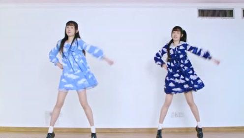 姐妹花秀舞技,欢快的舞步跳动起来真是好看