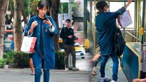陈意涵怀孕6个月公交出行36岁依旧少女 曾挺孕肚长跑五公里