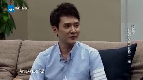 冯绍峰讲叙炎热天气身穿盔甲重拍三十遍,网友:真不容易!