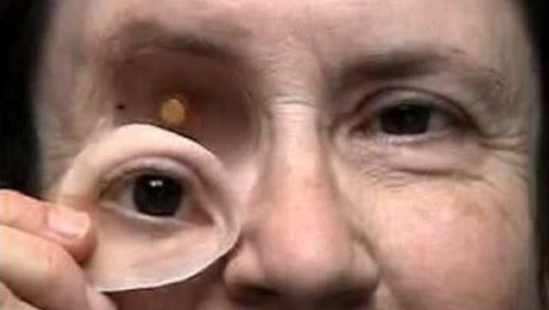 这些眼睛鼻子可以拿下来,3D打印五官,用来整容大有作为