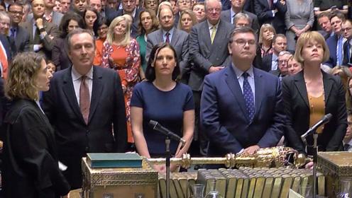 """202对432!英国议会下院投票否决""""脱欧""""协议"""