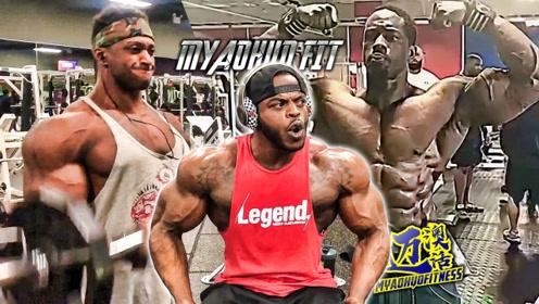 知名健体黑人选手阿诺德赛前5个星期备赛情况,谁将是冠军呢?