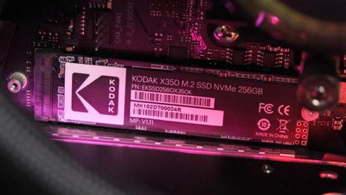 那个柯达居然出SSD了?柯达存储X350 M.2固态硬盘开箱评测