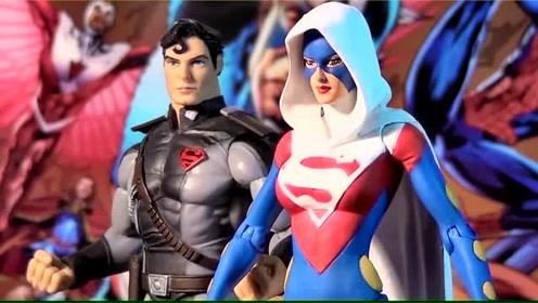 """《超级英雄》""""女超人""""手办实物模型酷炫开箱展示!"""