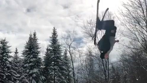 极限运动大比拼,最后的平衡技巧令人难以置信