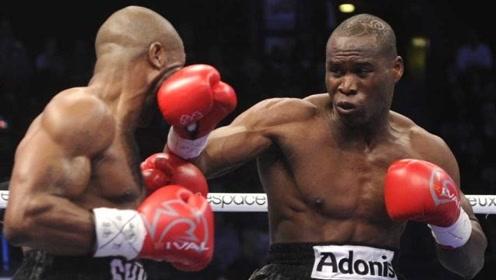 瘦版泰森重拳KO对手!白裤大哥被揍得人仰马翻
