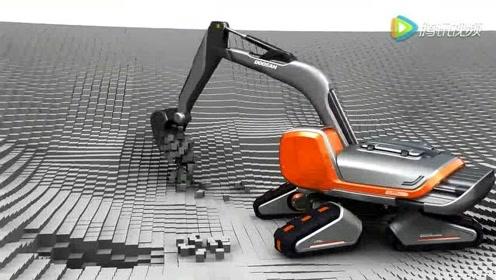 未来世界挖掘机会发展成什么样? 网友:挖掘机技术哪家强?蓝翔!