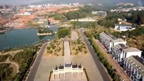 高清航拍,南京都市圈成员城市,安徽宣城美景!