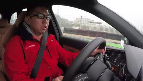 看得起买不起的奥迪,体验RS6上赛道