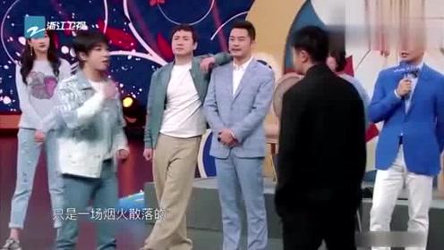 华晨宇飙高音让郭京飞模仿,郭京飞直接懵了,怒吼两字:闭嘴!