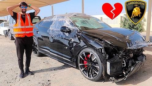 迪拜王子花30万买了一辆二手兰博基尼,打开车门一看,我的天!