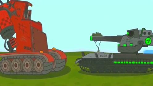 坦克世界搞笑动画:百运也学会刮风了,这是想把变形坦克刮跑吗