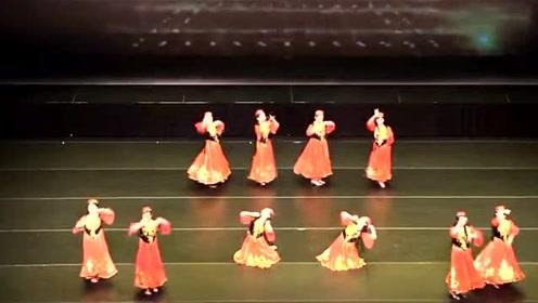 新疆维吾尔族舞蹈《花儿为什么这样红》民族舞