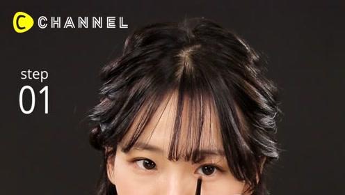2019最新!韩国女子流!卧蚕眼妆