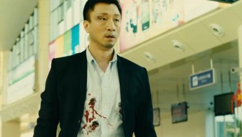 孙红雷天生就是演坏人的,他被警察乱枪打死那一刻,眼神满满都是戏