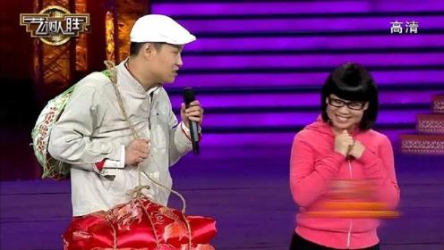 沈春阳送小沈阳离开表情怪异,小沈阳:我担心我帽子变色!