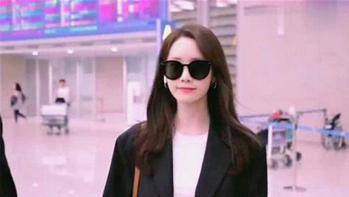 韩国女神林允儿饭拍现场!美艳容貌实力打脸整容传闻,太美了!