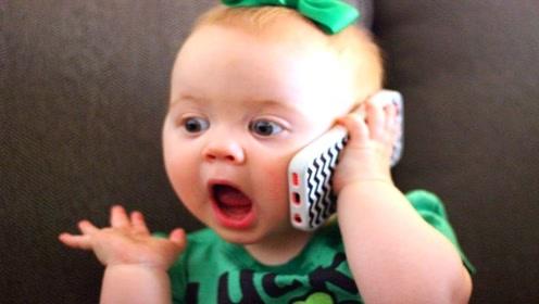 有趣的婴儿视频:果然优秀的都是别人家的,自己羡慕不来!