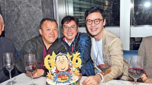曾志伟开派对贺66岁生日 香港众星齐聚祝贺