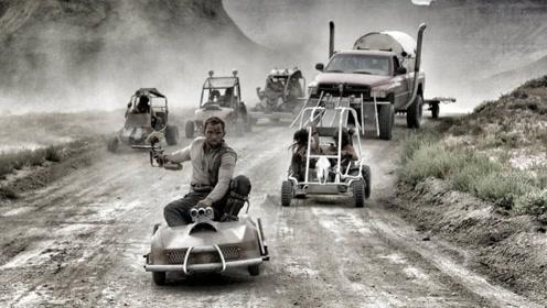 真实版死亡飞车,简易婴儿玩具车成大杀器,但可别遇上交警查车