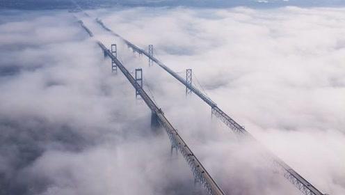 赚钱真轻松,美国恐怖大桥成为代驾天堂,一次收费200块!