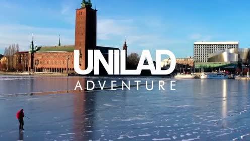 瑞典的冰上溜冰之旅