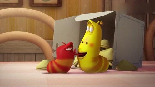 爆笑虫子:虫子最爱吃什么呀,怎么还想吃骨头,这事都没见过