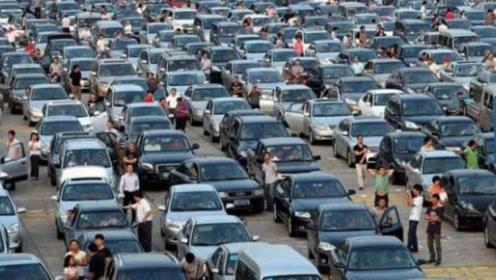 中国破纪录一次堵车,塞车时间长达20天,100公里内都是车?