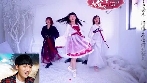 舞蹈:古风群舞也太好看了吧,小姐姐是什么神仙颜值,仙得不行