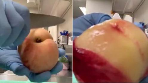 想吃桃子剥皮太麻烦?教你个剥桃子皮方法!
