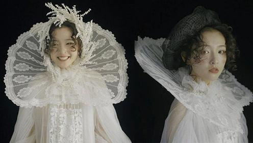"""吴倩穿1万5的洛丽塔裙有多美?""""脏脏妆""""亮相那刻:太意外了"""