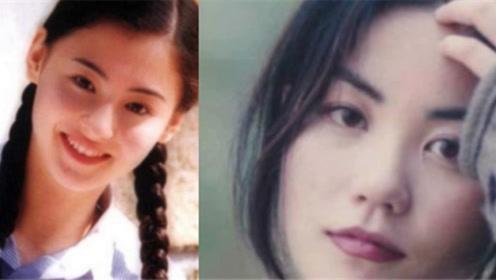 张柏芝和王菲年轻时照片的对比 不得不说谢霆锋眼光真毒