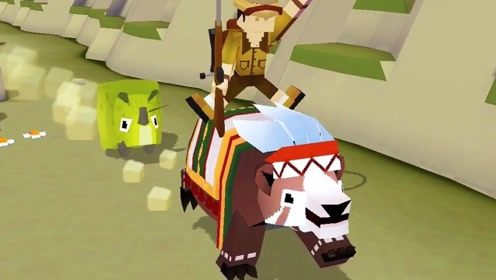 """疯狂动物园:不仅抓到山脉中的""""熊酋长"""",还完成了两个任务"""