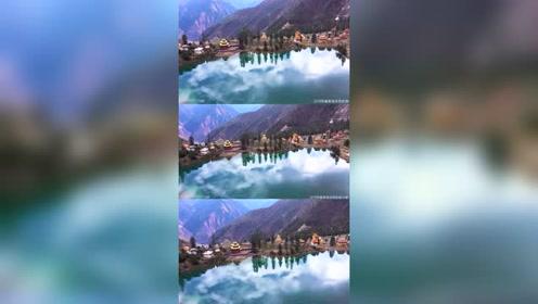 西藏秘境,川西措卡湖,住在这里真好